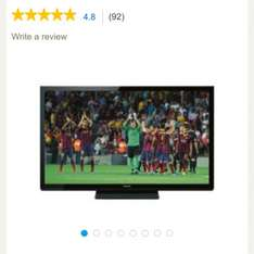 "Panasonic TX-P50X60B 50"" plasma tv £224 @ Tesco"
