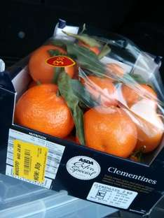 ASDA extra special Clementines 30p down from £3.50