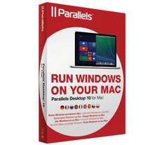 PARALLELS Desktop 10 for Mac, was £79.99, now just £26.99 @ currys
