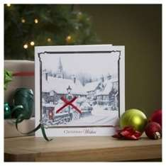tesco xmas cards now half price and 3 for 2 (at checkout ) online @ tesco direct