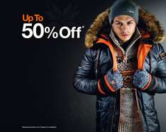 up to 50% off at Superdry with free delivery and returns! Lots of stock and all sizes