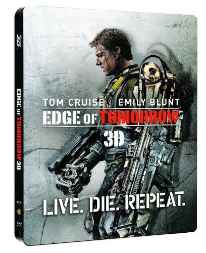 Edge of Tomorrow Hmv exclusive steelbook (3D/2D Blu-ray+HD UltraViolet) £14.99 @ hmv