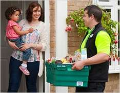 Monthly delivery pass for just £5 instead of £8 @ ASDA