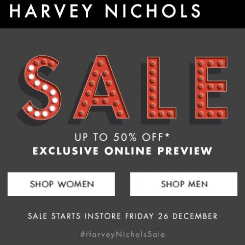 Harvey Nichols online sale started