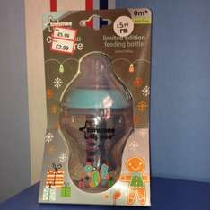 Tommie tippee Christmas bottle £2.99 @ Mothercare