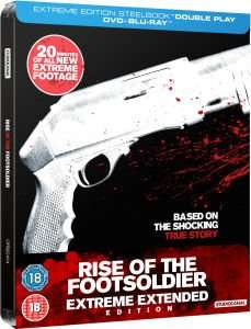 Rise of the footsoldier steelbook blu ray @ zavvi £8.99