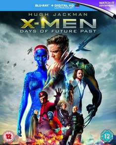 X-Men: Days of Future Past Blu-ray @ Amazon £10