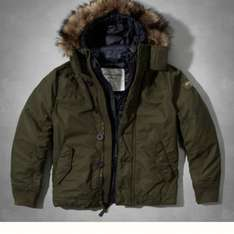 Abercrombie 2 in 1 men's parka £330 reduced to £139.99