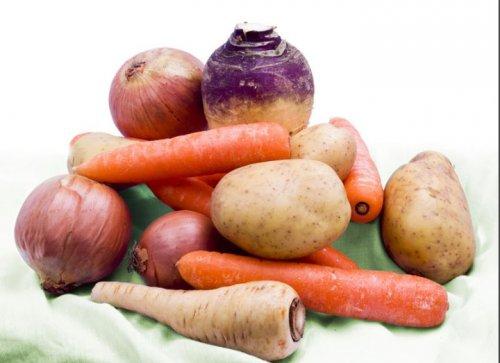 Tesco Vegetables Potatoes (2.5kg), Sprouts (500g), Carrots (1Kg), Cauliflower, Parsnips (500g) - Now 24p...
