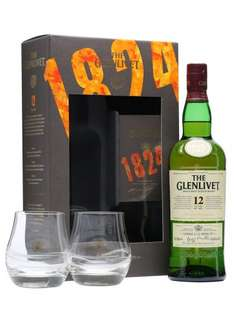 Glenlivet 12y.o 70cl GiftBox with 2 Glasses £20 @ Sainsburys