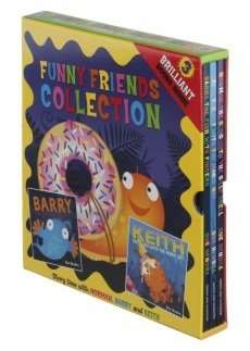 Funny Friends Collection 3 Book Box Set £2.79 @ Wh Smith