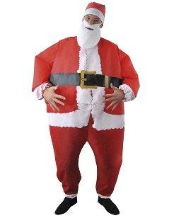 Self inflating Santa / Snowman suit now half price at £10 in asda