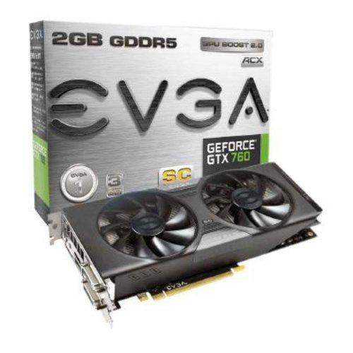 EVGA Nvidia GeForce GTX 760 £139.97 (Price matched with PC World) £139.97 @ Amazon