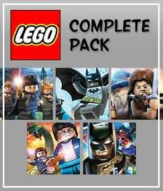LEGO Game Pack (Batman 1 & 2 , Harry Potter 1-7 & LOTR) £12.18 @ GMG with code (25HAPP-YXMASF-ROMGMG) PC Steam