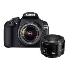 Canon 1200D 18-55DC + 50mm f1.8 + 2x 16GB Sandisk Extreme, UV Filter, 2 Bags and Screen Protector £299 (£279 inc. Cashback) @ Jessops