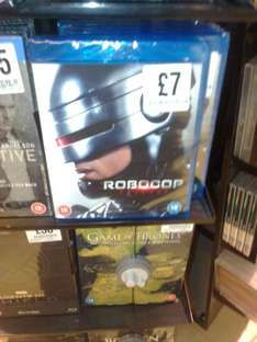 Robocop (remastered) trilogy BLU-RAY boxset £7 (more sale stuff below) in fopp