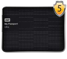 WD My Passport Ultra Portable Hard Drive - 1 TB - £50.00 Free delivery & 5 year warranty @ Currys