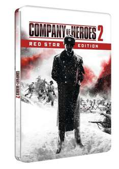 Company of Heroes 2 Red Star Steel Book Edition £9.99  @ Amazon (free delivery £10 spend/prime)