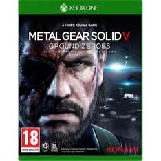 Metal Gear Solid V: Ground Zeroes Xbox One £9.95 @ John Lewis Free Click + Collect