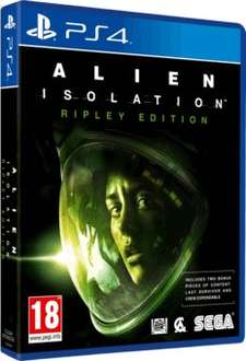 Alien: Isolation Ripley Edition for PS4 and Xbox One - £22 New or £19 Preowned @ GAME