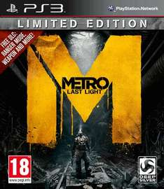 Metro Last Light Limited Edition - Ps3 / Xbox 360 - £5 @ GAME