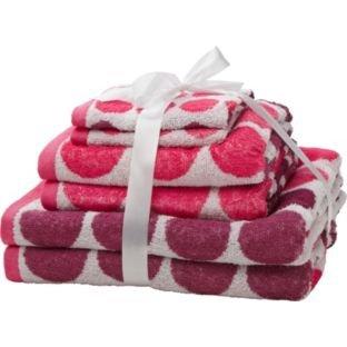 ColourMatch 6 Piece Towel Bale Now £9.99 (Pink & Purple or Blue & Green) @ Argos