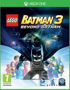 Lego Batman 3 Beyond Gotham - PS4 and XBOX ONE Only £22.00 online at Game!