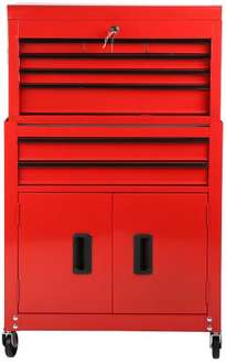 Halfords 8 Drawer Tool Centre for £67.50 (+ 3% quidco) only for today.