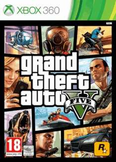 Grand Theft Auto V (Xbox 360/Pre Owned) (£13) @ GAME
