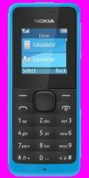 Nokia 105 Blue for £0.99 only