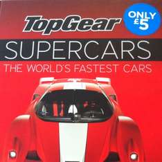 Top Gear SUPERCARS [The World's Fastest Cars] on sale £5 @ WHSmith
