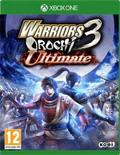 WARRIORS OROCHI 3 ULTIMATE (NEW) PS4/XB1 FOR £17 @ GAME