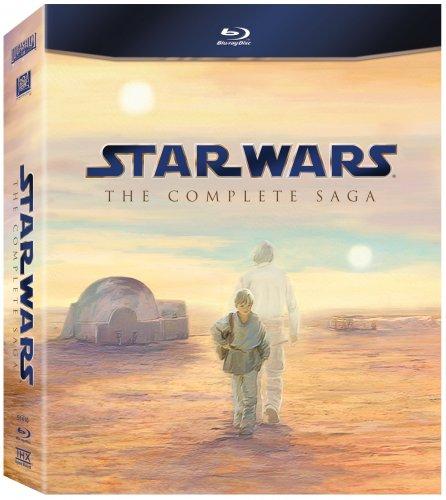 Star Wars: The Complete Saga [Blu-ray] [1977] [2011] £33.99 @ Amazon