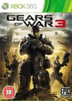 Gears of War 3 (Preowned) £2 @ GAME