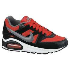 Nike Childrens' Air Max Command Trainers, Red/Black £25.00 @ John Lewis