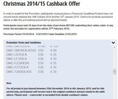 Panasonic Lumix DMC-FZ72 60 x Zoom bridge camera £200 (£140 after £60 cashback from Panasonic) at Purewell Electrical
