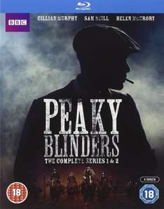 Peaky Blinders - Series 1-2 Blu-ray for £18.99 At Amazon (Lightning Deal)