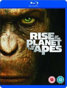 Rise of the Planet of the Apes Blu-Ray £3.99 @ Game