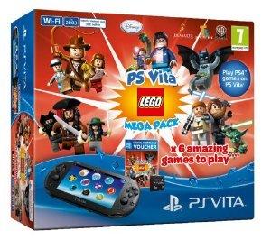 PS VITA LEGO MEGA PACK BUNDLE £126 @ Tesco Direct