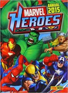 Marvel Heroes Annual 2015 (Annuals 2015) hardcover £0.99  (free delivery £10 spend/prime)  @ amazon