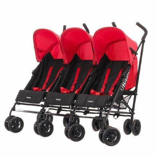 OBaby Mercury Triple Stroller (Black/Red) £113.95 @ Precious Little One