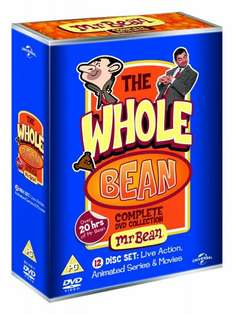 Mr Bean:The Whole Bean-Complete Collection DVD £13.50@ Amazon