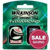 Wilkinson sword fx diamond - 8 blades for £2.95 @ All Beauty