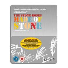 The Stone Roses: Made Of Stone Blu-ray Steelbook (3 Discs inc DVD) £6.98 @ Rakuten using code (Sold by soundandvisionuk)