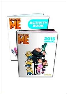Despicable Me Annual 2015 Hardcover & Free Activity Book 99p Delivered (Prime/£10 Spend) @ Amazon