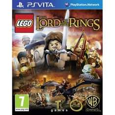 Lego Lord of the Rings PSVIta £5.85 Using Code Rakuten / Zoverstocks