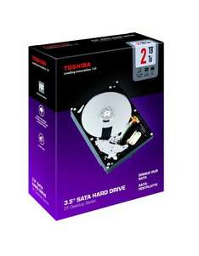 "TOSHIBA PA4292E-1HL0 Internal 3.5"" SATA Hard Drive - 2TB (DT series ) £59.99 @ pc world/currys"