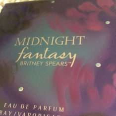 Britney Spears Midnight Fantasy 100ml £19.99 @ The Perfume Shop