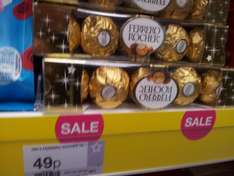 5 pack Ferrero Rocher 49p & Terry's chocolate orange 49p & After Eights 49p & others at Superdrug