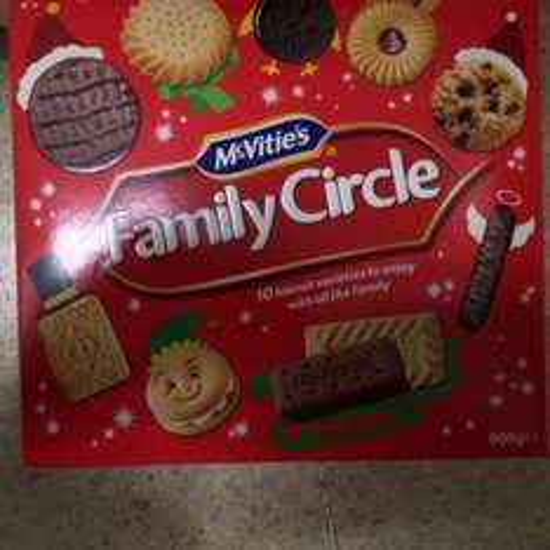 Family circle tubs 700G £1.25 @ Tesco